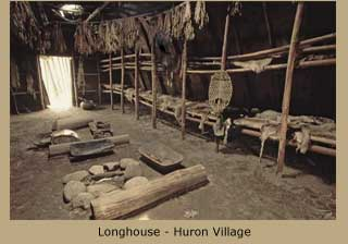 Longhouse - Huron Village