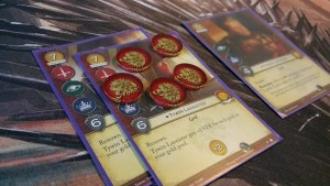 A Game of Thrones LCG House Power Tokens (Martell)