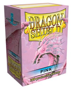 Dragon Shield Pink 100-p