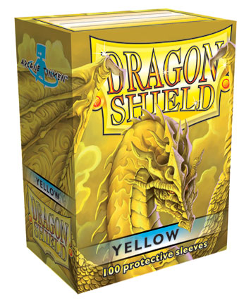 Dragon Shield Yellow 100-p