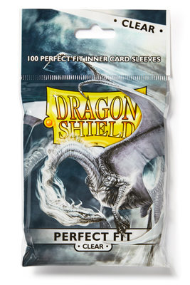 Dragon Shield Perfect Fit Clear 100-p