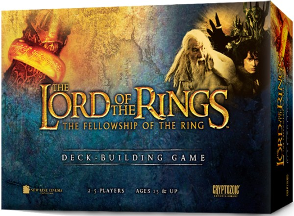 Lord of The Rings: The Fellowship of The Ring Deck Building Game
