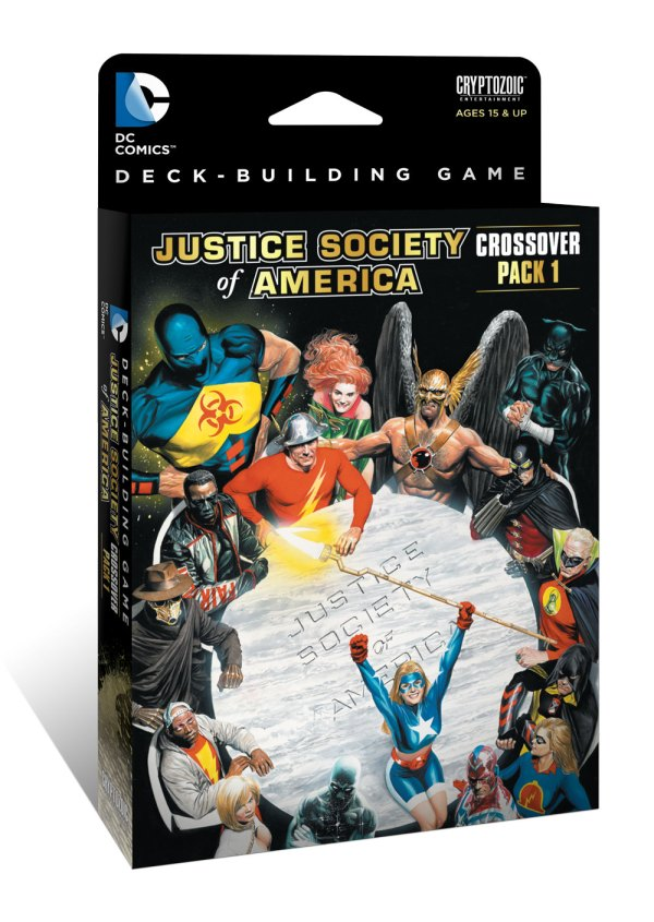 DC Deck-Building Game: Crisis Crossover Pack #1