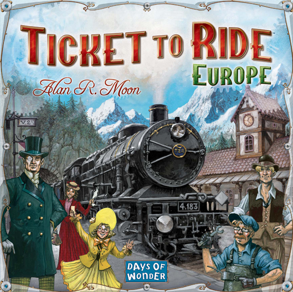 Ticket To Ride Europe (en)