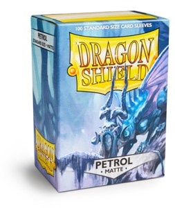 Dragon Shield Matte Sleeves (100) - Petrol