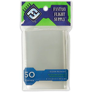 Sleeves FFG Clear 57x89 mm Green Serie