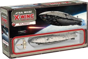 Star Wars: X-Wing Miniatures Game – Rebel Transport Expansion Pack