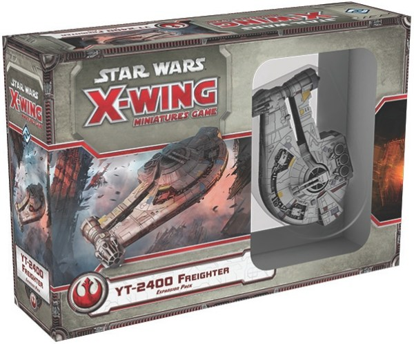 SW X-Wing Min YT-2400 Freighter Exp.