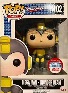 Funko Pop! Mega Man Thunder Beam 2016 NYCC (Exclusive)
