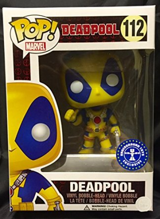 Funko Pop! Marvel – Deadpool Yellow and Blue Suit (Exclusive)