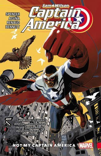 CAPTAIN AMERICA SAM WILSON TPVOL 01 NOT MY CAP AMERICA