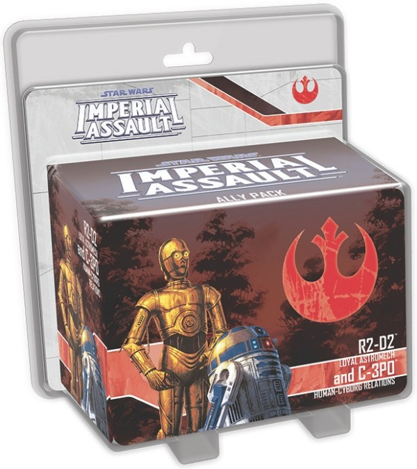 Star Wars IA R2-D2 & C-3P0 Ally Pack