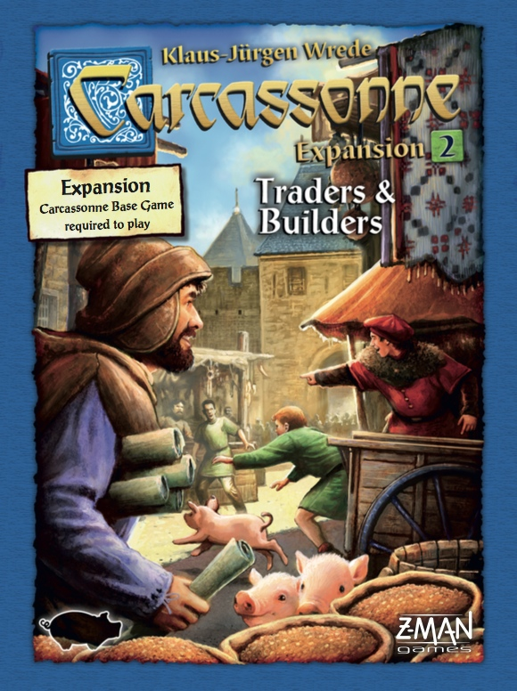Carcassonne: Expansion 2 – Traders & Builders (sv)