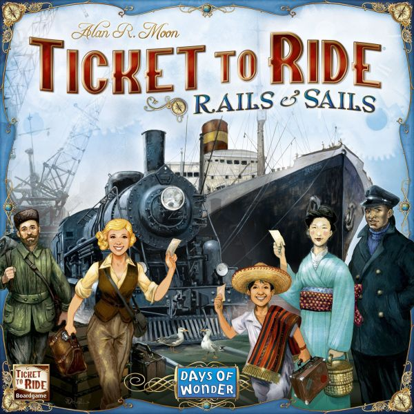 Ticket to Ride: Rails & Sails (en)