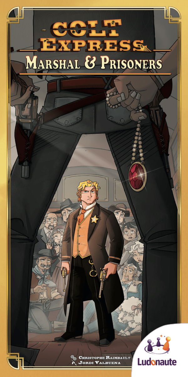 Colt Express: Marshal & Prisoners exp