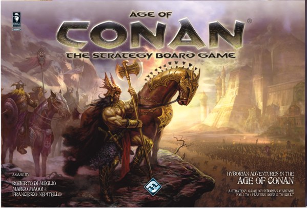 Age of Conan Strategy Board Game