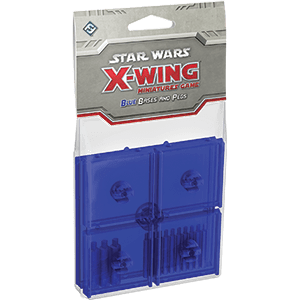 X-Wing Bases & Pegs (Blue)