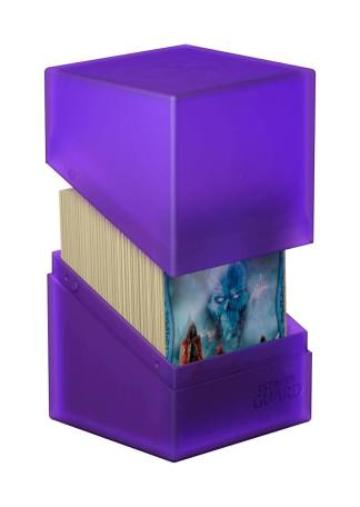Ultimate Guard Boulder™ Deck Case 100+ Standard Size Amethyst