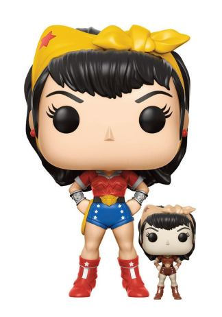 DC Comics Bombshells POP! Heroes Vinyl Figures 9 cm Wonder Woman