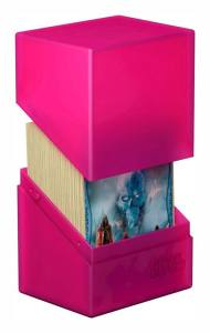 Ultimate Guard Boulder™ Deck Case 80+ Standard Size Rhodonite