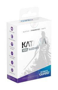 Ultimate Guard Katana Sleeves Standard Size Transparent (100)