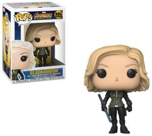 Avengers Infinity War POP! Movies Vinyl Figure Black Widow 9 cm
