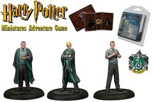 Harry Potter Miniatures 35 mm 3-pack Slytherin Students