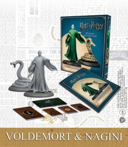 Harry Potter Miniature 35 mm 2-Pack Voldemort & Nagini *English Version*