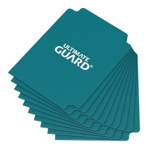 Ultimate Guard Card Dividers Standard Size Petrol Blue (10)
