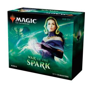 Magic the Gathering War of the Spark Bundle english