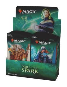 Magic the Gathering War of the Spark Theme Booster