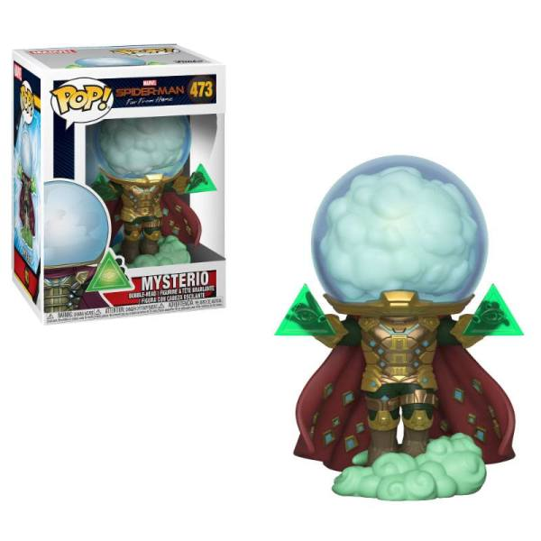Spider-Man: Far From Home POP! Movies Vinyl Figure Mysterio 9 cm