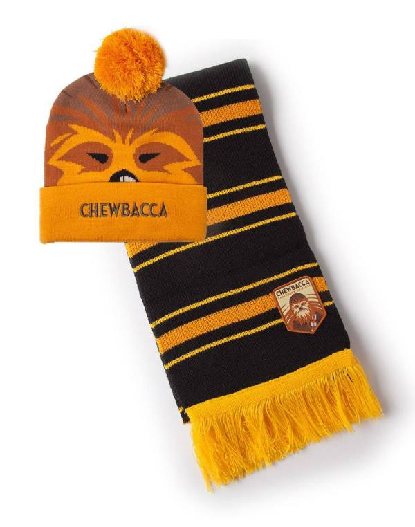 Star Wars Beanie & Scarf Set Chewbacca