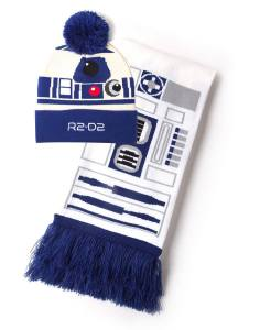 Star Wars Beanie & Scarf Set R2-D2