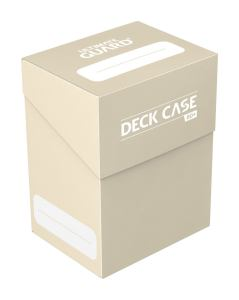 Ultimate Guard Deck Case 80+ Standard Size Sand