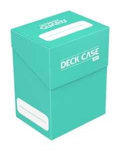 Ultimate Guard Deck Case 80+ Standard Size Turquoise
