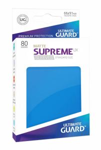 Ultimate Guard Supreme UX Sleeves Standard Size Matte Royal Blue (80)