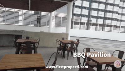 bbq pavilion apartemen west vista puri