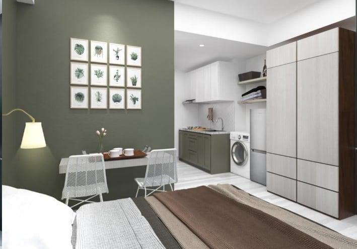 Aprtemen West Vista Tipe Studio Design Modern Classic