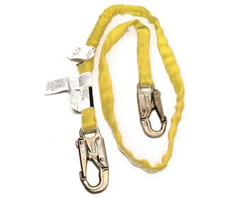 yellow lightweight lanyard