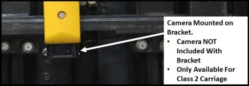 Close Up Camera Mounted on Bumper