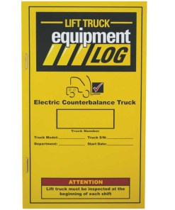 Electric Counterbalance daily checklist Spanish Refill