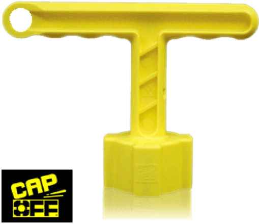 Cap Off Battery Cap Removal Tool