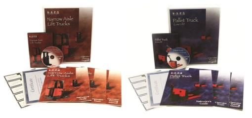 Narrow Aisle & Pallet Truck Combo DVD Kit