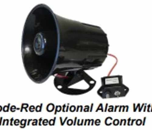 Code Red Optional Alarm w Integrated Volume Control