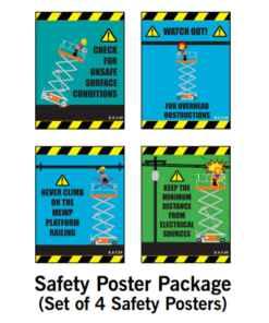 Scissor Lift Posters