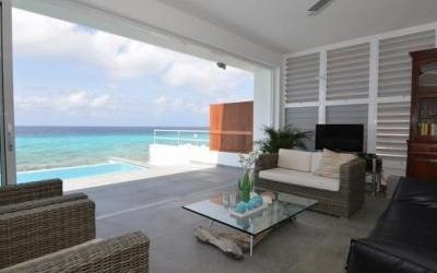 Who Needs Art? Every Room in This Bonaire Villa Has an Ocean View