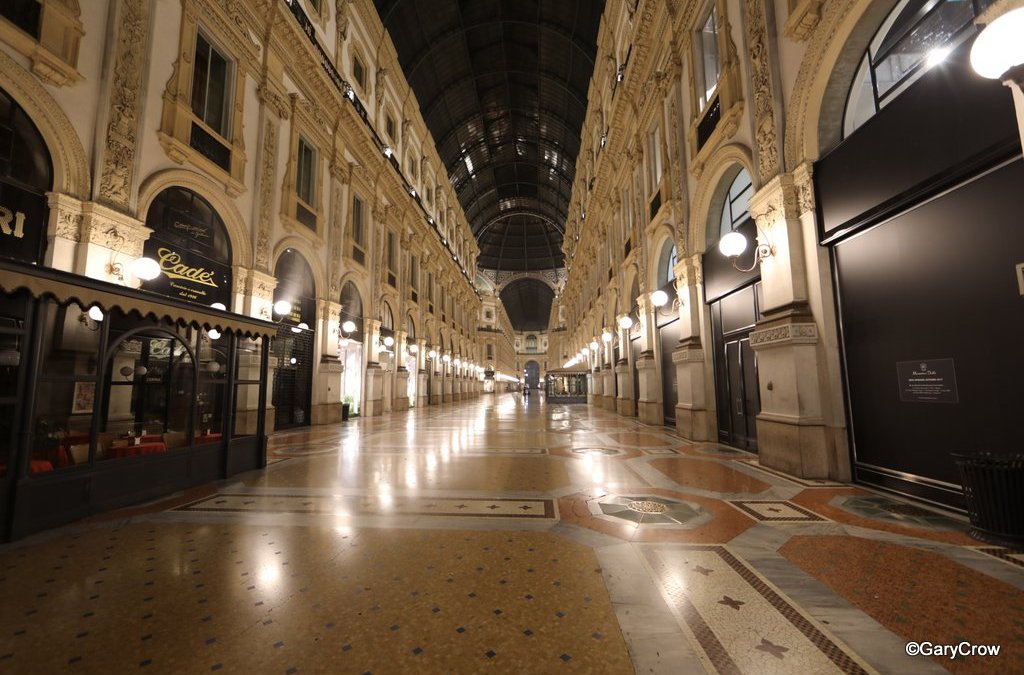 I Can Die Now; I've Strolled the Galleria Vittoria Emanuel at 2 am