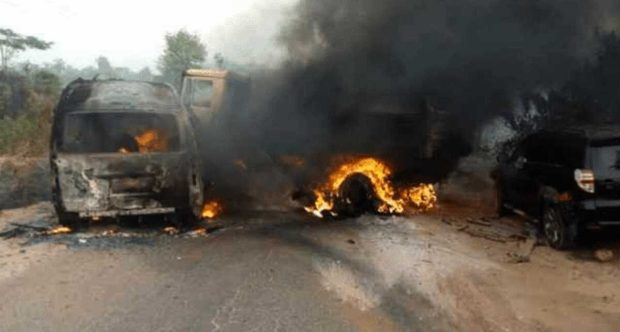8 burnt to death in Lagos-Ibadan expressway accident - First Reports