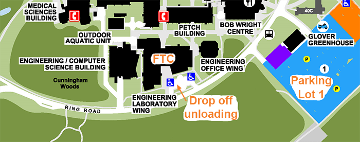 parking map for event